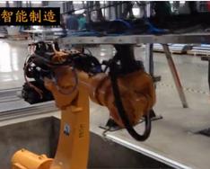 ESTUN shang下料机器人-在电梯零bu件折wan中deying用